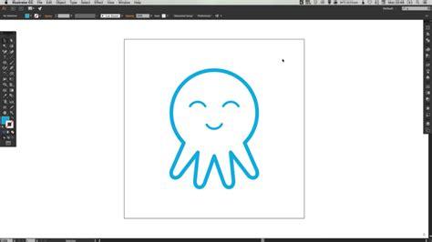 illustrator tutorial octopus рисуем милого осьминожку в adobe illustrator