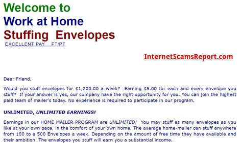 legit work at home envelopes 24 hr check