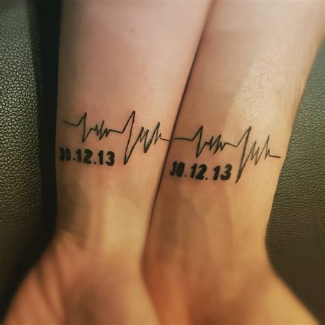 matching couple tattoo 80 matching ideas for couples together forever