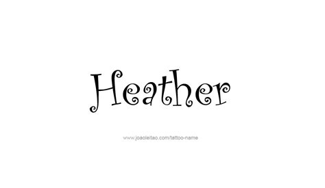 heather tattoo designs name designs www pixshark images galleries