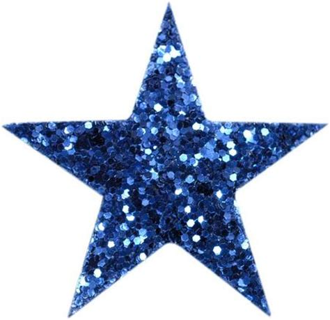 Syari Glitt 1 blue glitter coarse grained hair clip