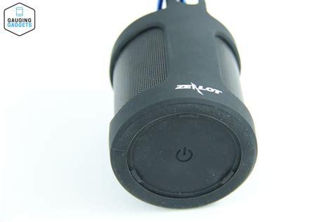 Speaker Bluetooth Zealot zealot s5 bluetooth speaker gauging gadgets