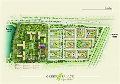 disewakan apartemen green palace kalibata city tower