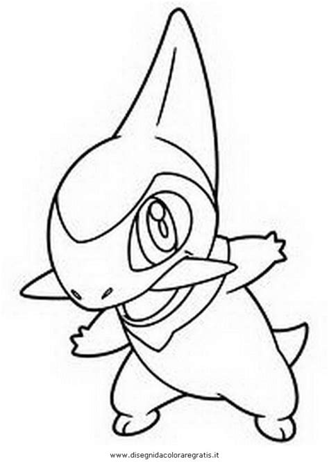 pokemon axew colouring pages