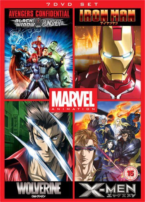 Home Decor Flash Sale by Marvel Anime Box Set Dvd Zavvi Com