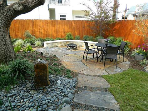 Rock Landscaping Ideas Backyard Furniture Astonishing Backyard And Garden Decoration With