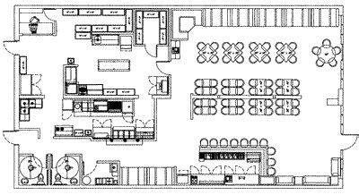 restaurant layout  design articles french restaurant