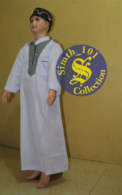 Harga Baju Gamis Anak Laki Jual Baju Muslim Koko Gamis Anak Pria Laki 313 1sd12