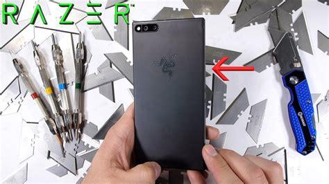 Pisau Merk Vivo bongkar razer phone temukan heat pipe smartphone terbesar