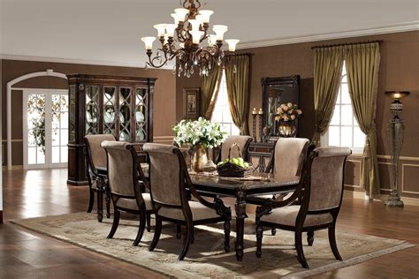 Pictures Of Formal Dining Rooms The Le Palais Formal Dining Room Collection 11388
