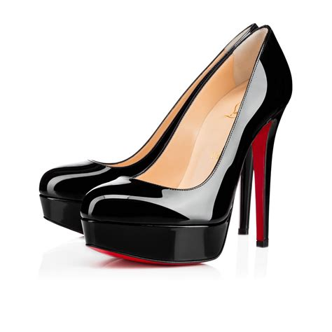 Shoes Christian Louboutin Po38 140 Black Patent Leather Shoes Christian