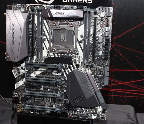 Asus Rage Vi Apex Mainboard computex 2017 asus announces several new motherboards at