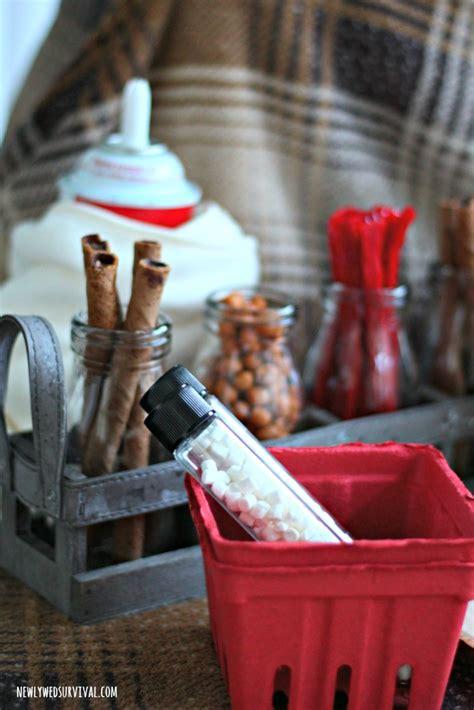 Easy Hot Chocolate Bar   Peppermint Hot Cocoa Recipe