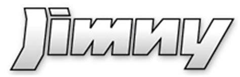 Suzuki Jimny Logo Jimny Suzuki Sport Racing Parts Information