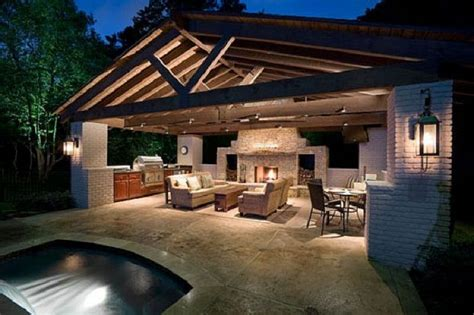 outside kitchens designs stunning outdoor kitchen ideas house ideas pinterest