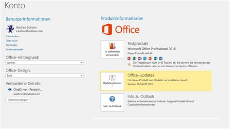 Office Updates How To Update Office 2016