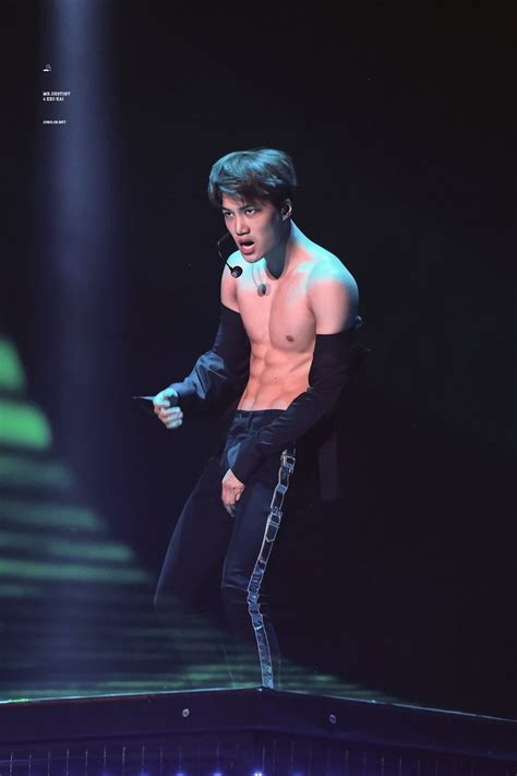 exo abs kai of exo caught with crazy hot abs on exo concert kpopmap