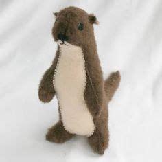 felt otter pattern project sea playset on pinterest felt fish felt and