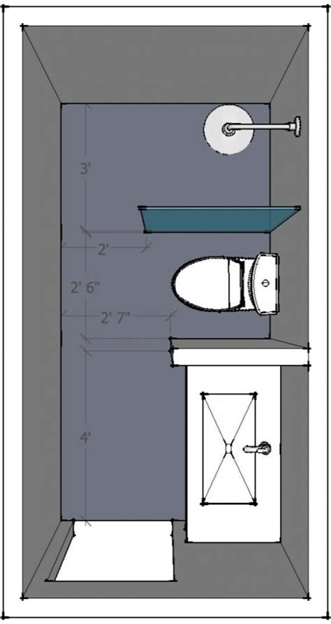 Bathroom Design Layout Ideas by 5 X 10 Bathroom Layout Help Welcome Small Bathroom