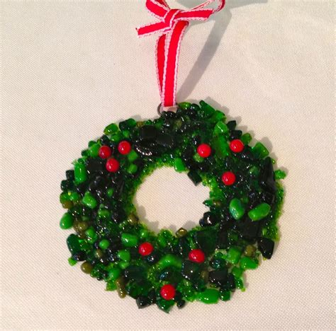 360 fusion glass blog fused glass holiday ornaments