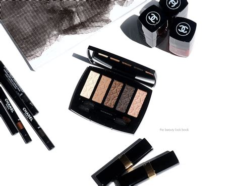 Chanel Fall Golden Shadows by Les 5 Ombres De Chanel Eyeshadow Palette In Entrelacs For