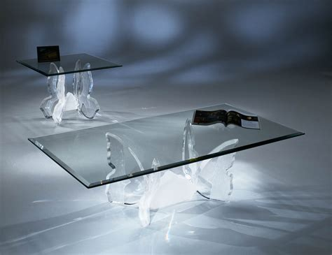 acrylic and glass coffee table acrylic clear butterfly ii coffee table with glass top