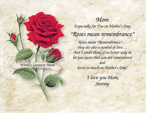 mom roses  remembrance mothers day  red pink