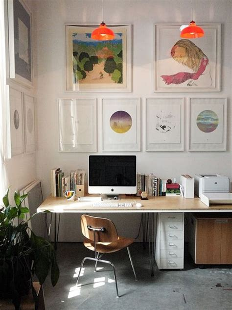 comfy and tropical home office designs