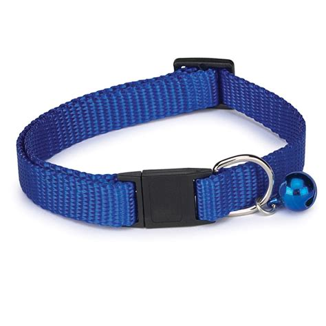 What Color Compliments Pink Nylon Cat Collar Blue Baxterboo