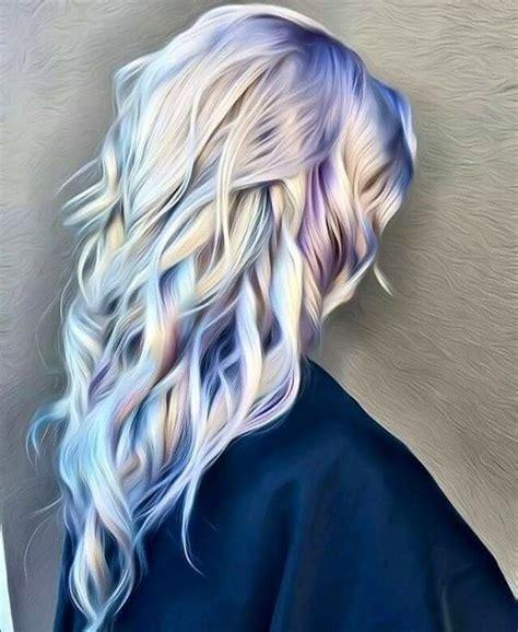 purple highlights in platinum blonde hair platinum blonde hair with blue purple hair we go again