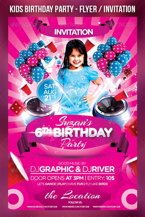45 free birthday invite templates in psd free psd