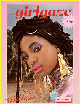 libro girlgaze how girls see willow smith photos news and videos just jared
