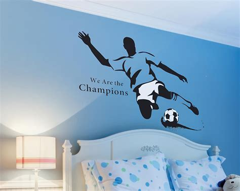 Large Nursery Wall Stickers football fanatic extra large wall stickers classic signs