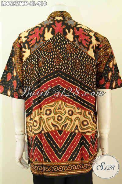 Kemeja Batik Pria Kerah Sanghai batik hem pria dewasa kemeja batik kerah shanghai halus lengan pendek motif klasik proses tulis