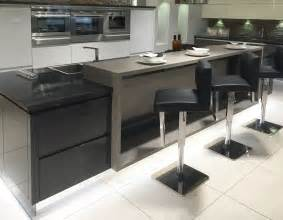 kitchen island with breakfast bar designs modern kitchen island design with raised breakfast bar