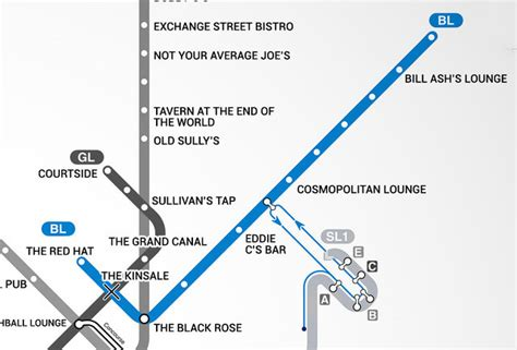 map of boston bars blue line boston t bar map
