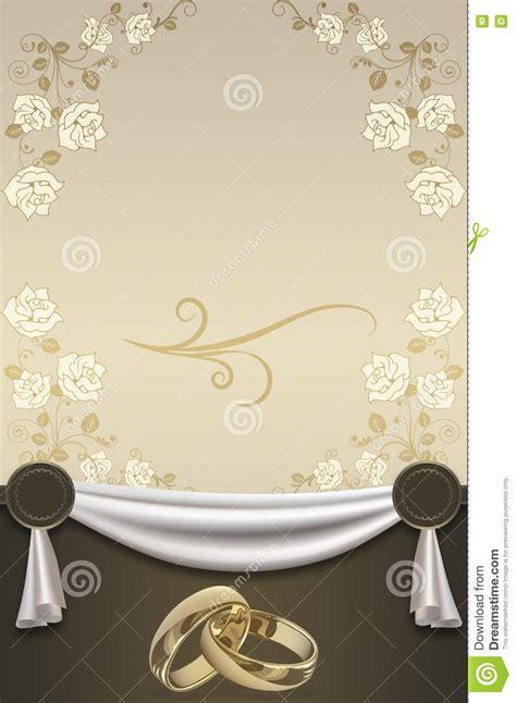 Wedding Invitation Gold Background by Wedding Invitation Card Design Stock Illustration Image