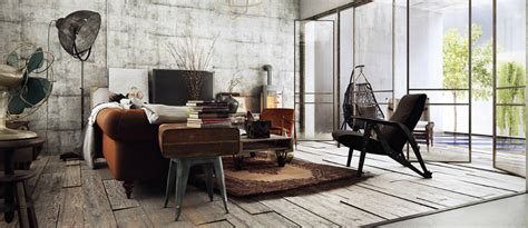 industrial style floor l industrial style use modern