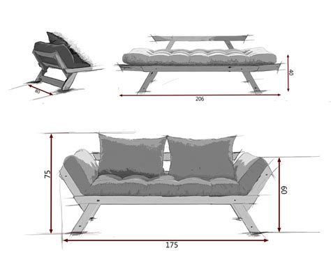 divani letto futon divano letto futon bebop zen vivere zen