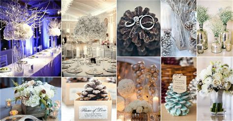 diy exclusive collection of winter wedding decor ideas