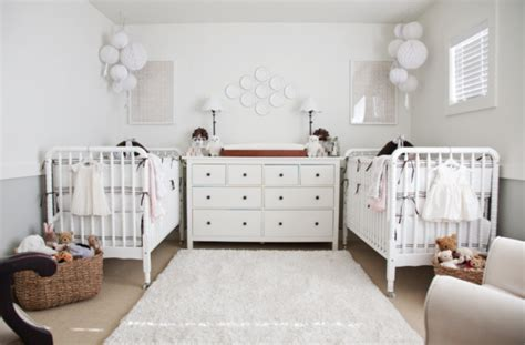 nursery layout with twin bed doubly dreamy twin nurseries design dazzle