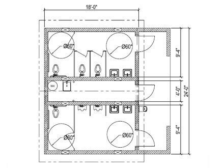 ada bathroom floor plan basic bathroom regulations for public spaces pinterest