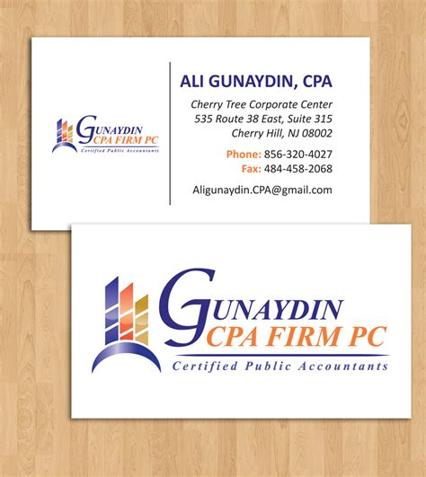 Cpa Business Card