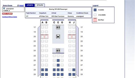 seat selection american airlines american airlines upgrades website seat selection process