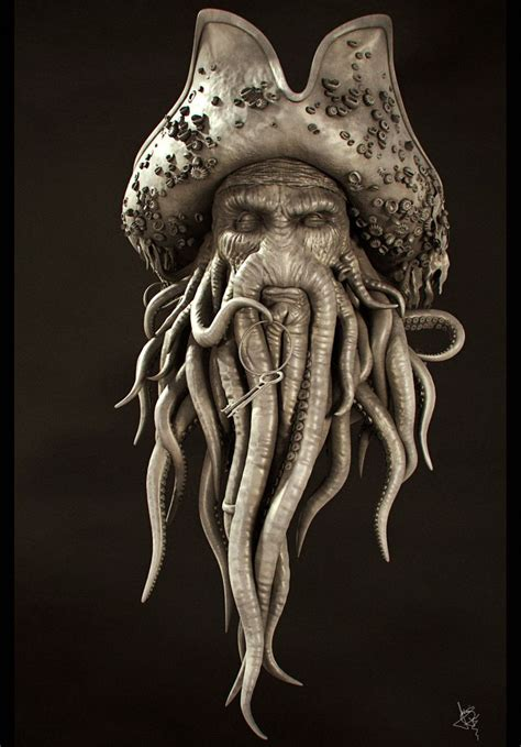 zbrush octopus tutorial piratas del caribe zbrush blender pinterest