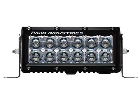 rigid industries light bar rigid industries 6 inch e series led light bar amber flood