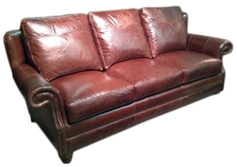 Cc Leather 249 Houston Sofa Ohio Hardwood Furniture Houston Leather Sofas