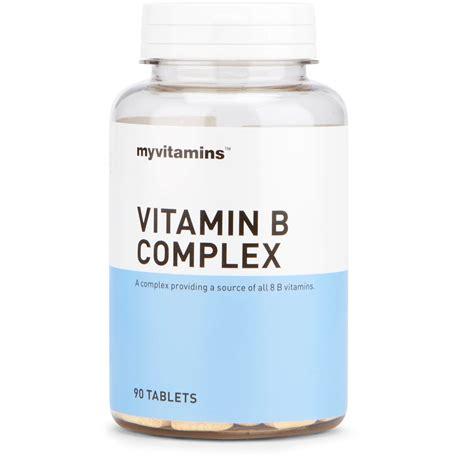 Vitamin B Complex Tablet Buy Vitamin B Complex Tablets Myvitamins