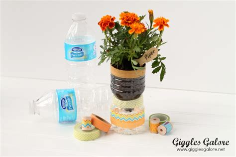 Water Bottle Planter by Recycled Water Bottle Planters