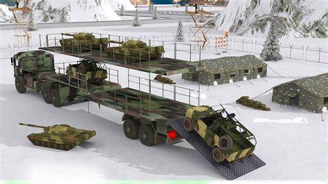 Cargo Army 4 6 army cargo truck army truck driving simulator 3d